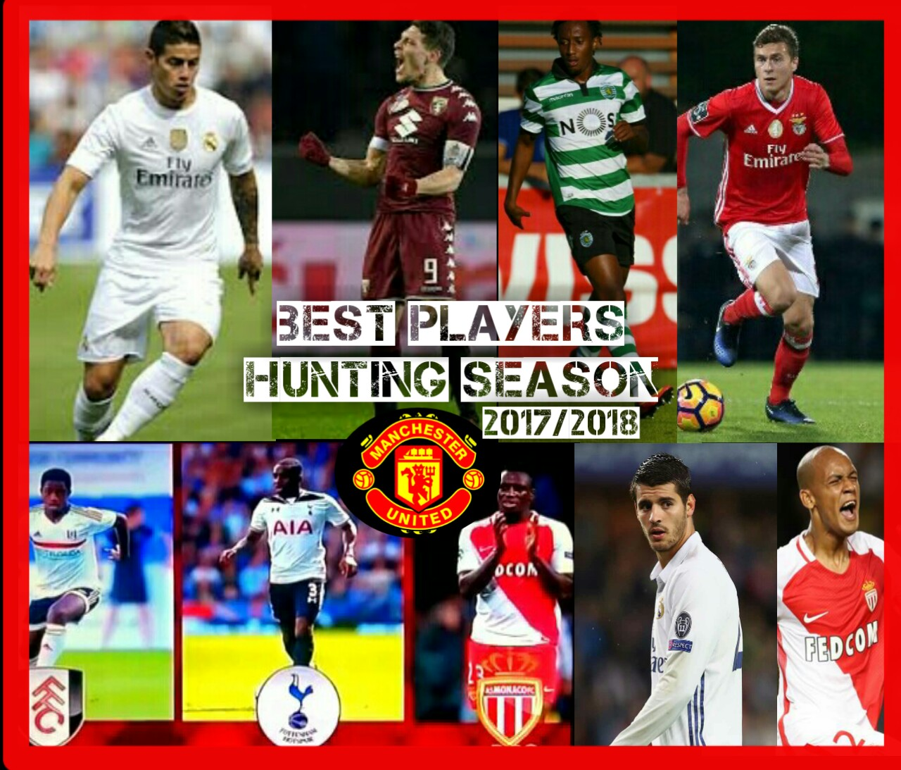 Hunting Season • Pemain Incaran Manchester United 2017 2018